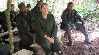 How a French Woman Became a Colombian Rebel