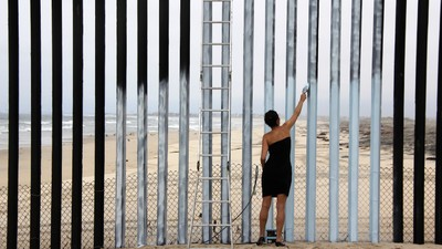 The Artists Using the US-Mexico Border as a Blank Canvas