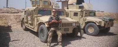 What It's Like to Fight ISIS in Iraq as a Westerner