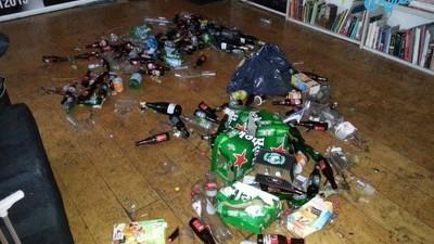 Notre spécialité : le nettoyage post-fête