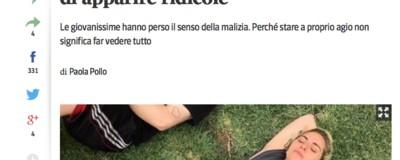 L'ossessione del giornalismo italiano per i pantaloncini delle ragazze