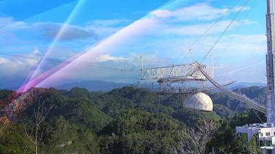 Если мы хотим найти инопланетян, нам нужно спасти телескоп Аресибо