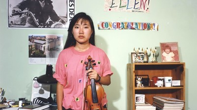 In Teenie-Schlafzimmer aus den 90ern