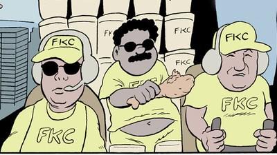 'In Dubai,' Today's Comic by Jai Granofsky