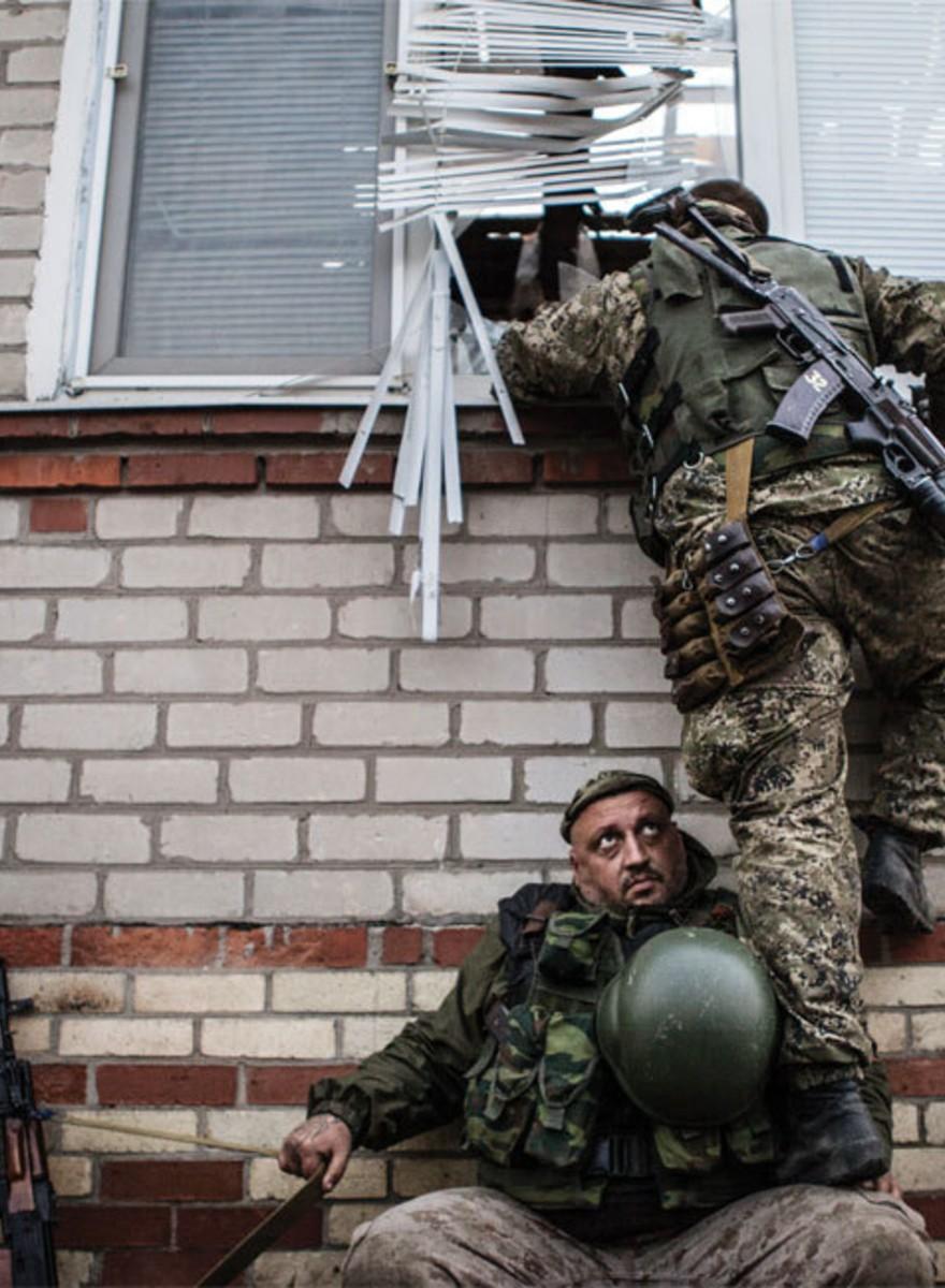 Fotos aus dem ukrainischen Krisengebiet