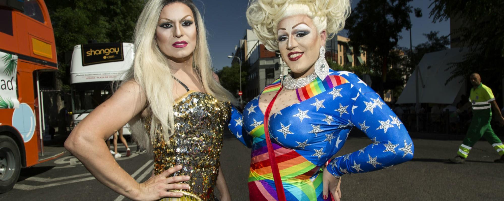Fotos del Orgullo LGTB de Madrid 2016