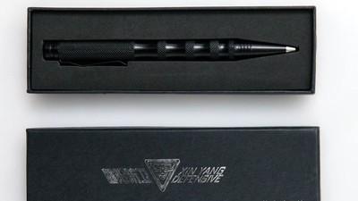 Esta pluma es el arma de los guardaespaldas en China