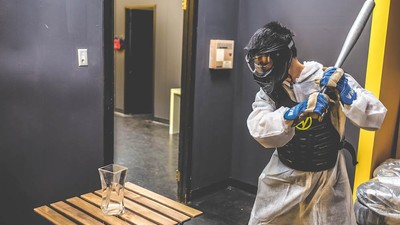 What It's Like Working At a Rage Room