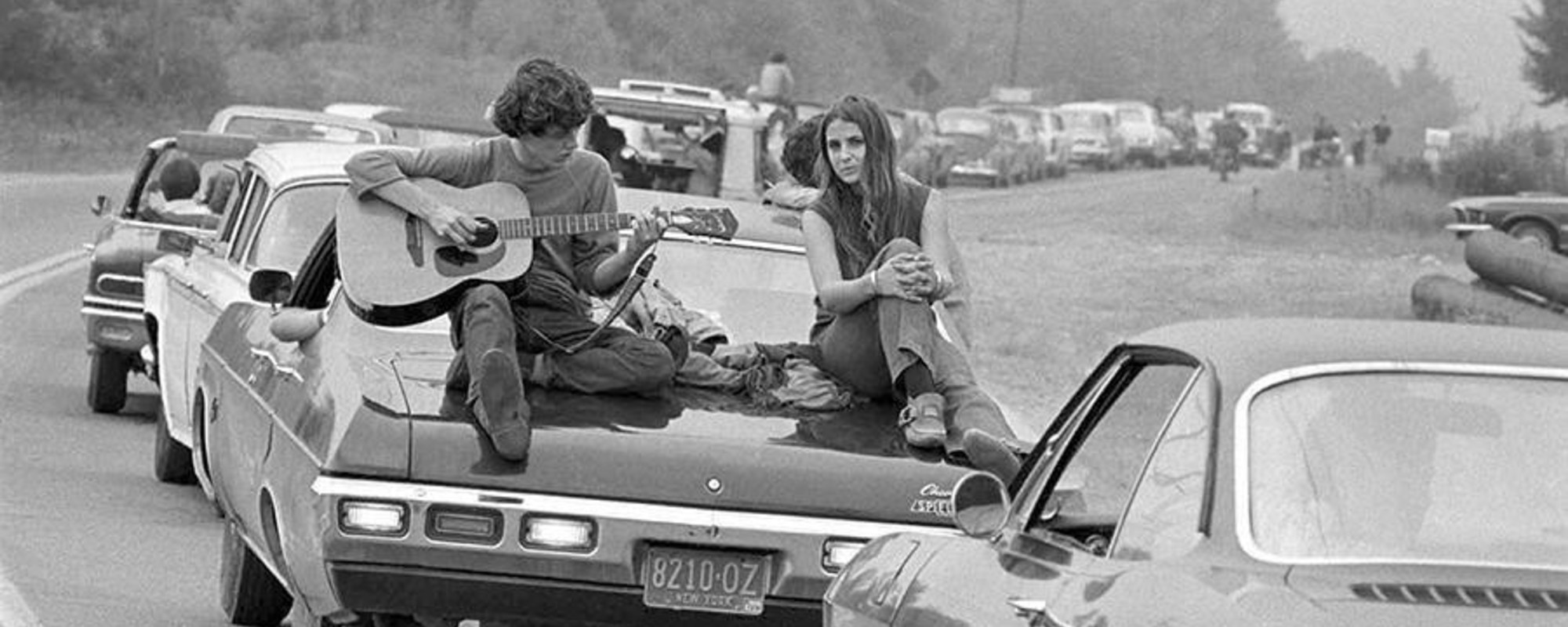Alkohol, Marihuana und Sex – Fotos aus den ersten Tagen von Woodstock