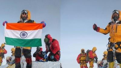 Terá um casal indiano manipulado uma foto da sua escalada do Everest?