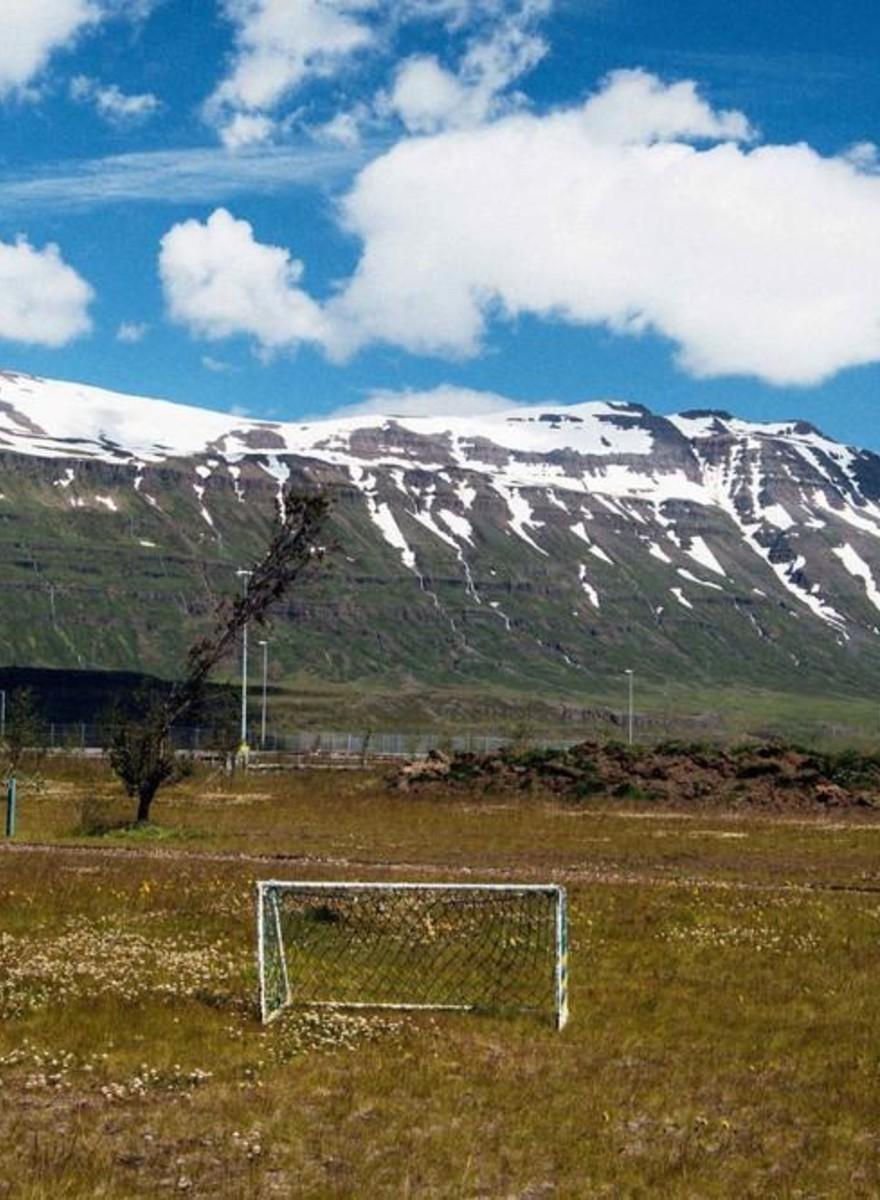 Auf diesen Fußballfeldern haben Islands EM-Helden spielen gelernt