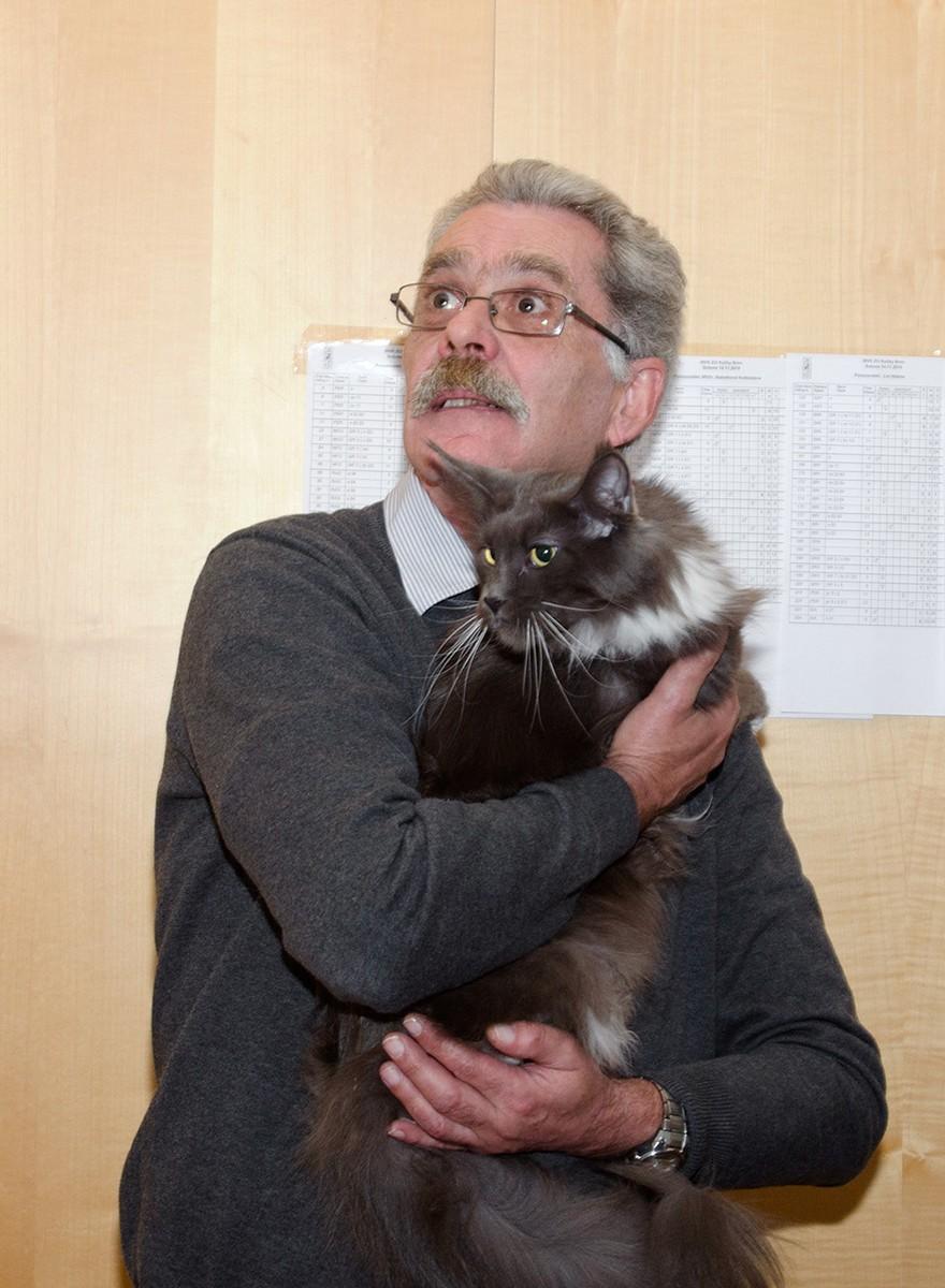 Tragikomické momentky z tuzemských výstav koček