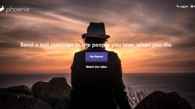 Dankzij deze site kan je mailtjes blijven sturen na je dood