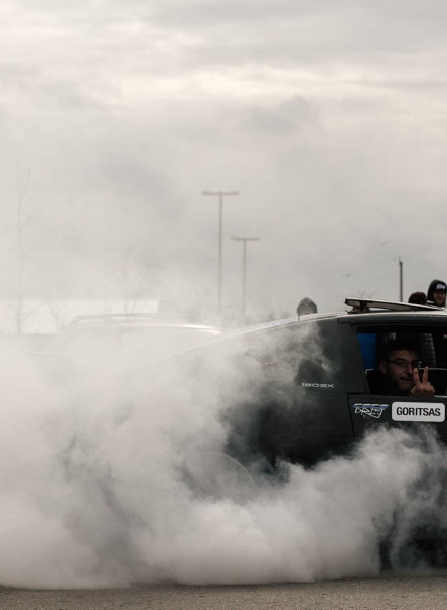 Photos from Toronto's Underground Drag Racing Meet-Ups