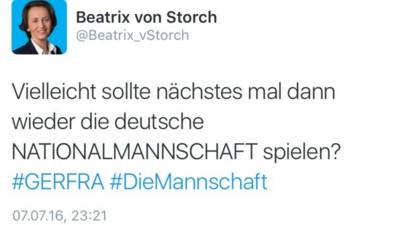 Wir haben Social-Media-Posts von Beatrix von Storch nach Blödheit geordnet