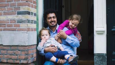 We vroegen een paar verse vaders hoe ze het vonden om hun kind geboren te zien worden