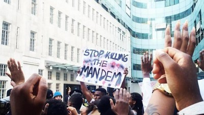 A Series of Black Lives Matter Demonstrations Spread Across London