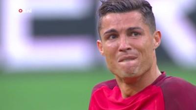 Alleen Frank Snoeks kon het tragische moment van Cristiano Ronaldo vakkundig slopen