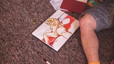 Cómo es impartir una clase de dibujo donde las modelos son trabajadoras sexuales
