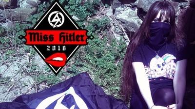 """Eine Neonazi-Gruppe hat kürzlich die """"Miss Hitler 2016"""" gekürt"""