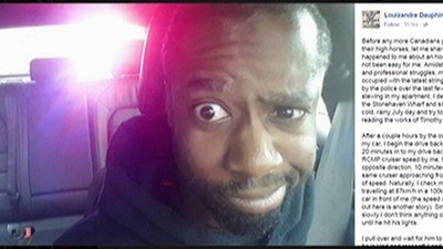 Meanwhile in Canada: Black Man Stopped by Police For Reading