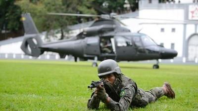 Militares das Forças Armadas poderão ter foro diferencial para julgar crimes cometidos durante as Olimpíadas