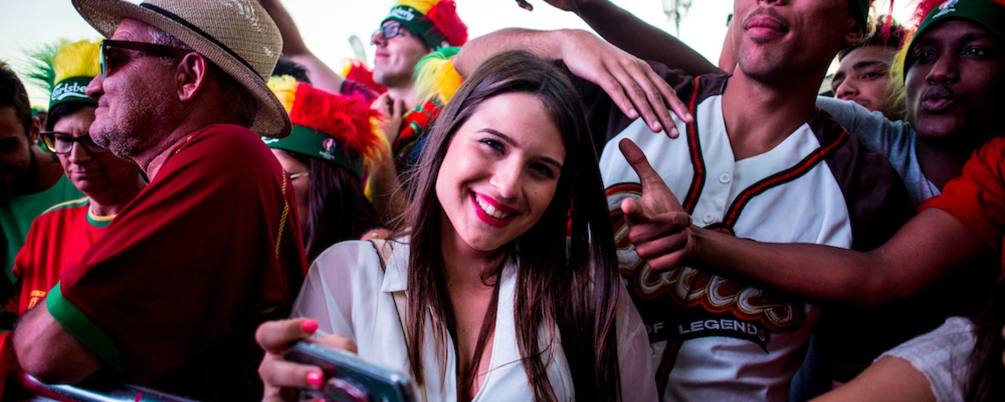 Photos of Portuguese Fans Celebrating Monday's Euro 2016 Win