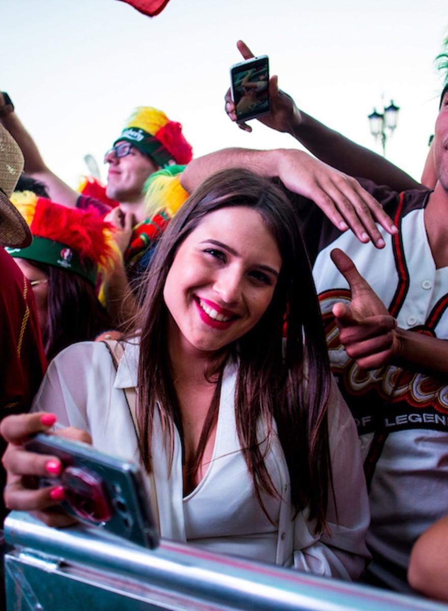 Photos of Portuguese Fans Celebrating Monday's Euro 2016 Win