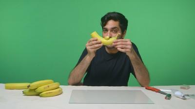 Zo maak je een wietpijp van een banaan