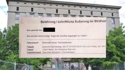 Der Berghain-Getränkekarten-Krimi geht weiter – Anzeige und neue eBay-Auktion aufgetaucht