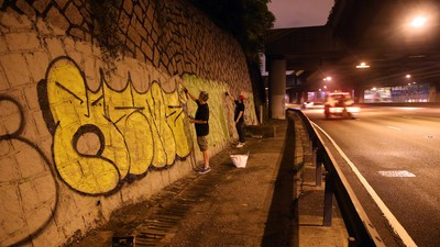 I Went Bombing with Hong Kong's Biggest Graffiti Writers