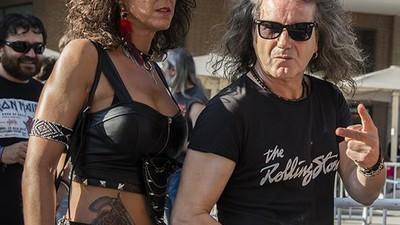 Una tarde con los jevis veteranos de Madrid en el concierto de Iron Maiden