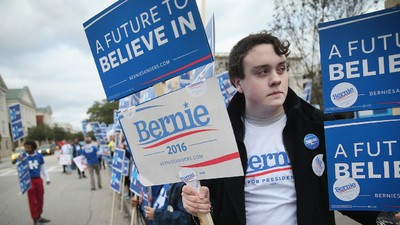 The Bernie Bros Guide to Falling in Line