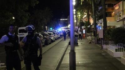 Depois do ataque, silêncio mortal nas ruas de Nice