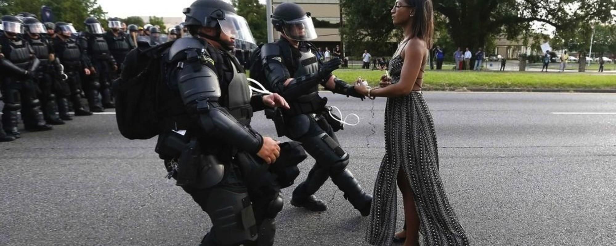 Die Geschichte des ikonischen Black-Lives-Matter-Fotos