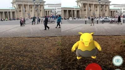 Le città europee viste attraverso Pokémon Go
