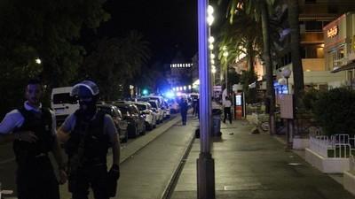 Op de straten van Nice na de aanslag