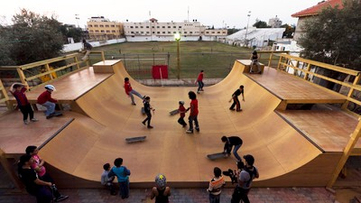 Inside One of Palestine's First Skate Camps