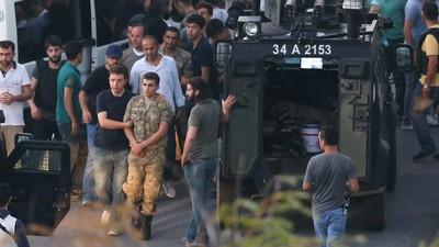 Cronologia tentativei de lovitură de stat din Turcia