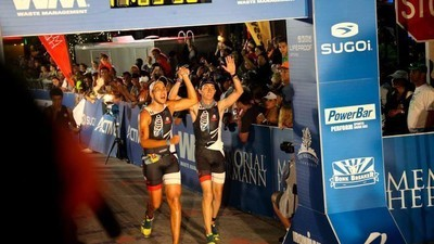 Rafael Jaime: el atleta ciego que conquistó un Ironman