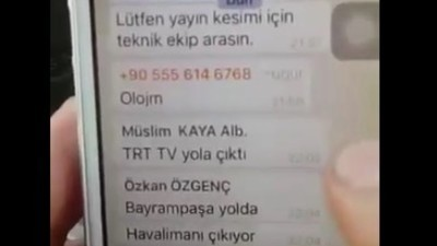 Ein Blick in die mutmaßliche WhatsApp-Gruppe der türkischen Putschisten