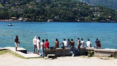 Hoffen in Como – Ein Tag bei den Flüchtlingen an der Schweizer Grenze
