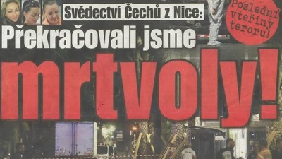 Teror à la česká media