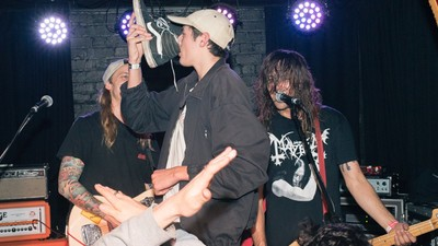 Loud Punk, Flailing Hair, Shoeys and Vom, the Auckland VICE + LEVIS Party Had Everything