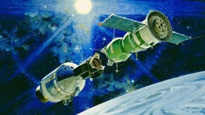 The Orbital Handshake That Changed Space History