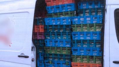 In Berlin hatte ein Transporter anderthalb Tonnen Fladenbrote zu viel geladen