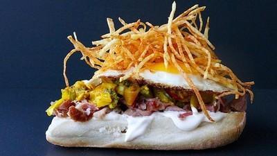El sándwich es mejor con papitas