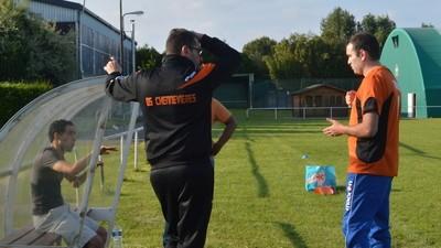 À l'entraînement avec les footballeurs sourds du Val-de-Marne