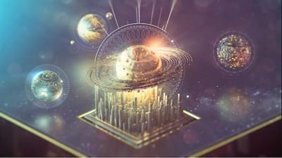 El libro del Génesis es reinterpretado en este corto animado espacial