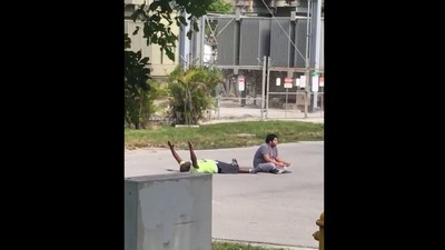 North Miami Police Shot an Unarmed Black Man Who Was on His Back with His Hands Up